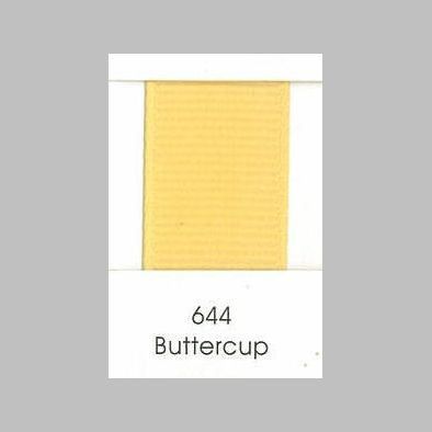 644 Buttercup Grosgrain Ribbon