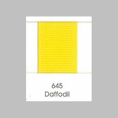 645 Daffodil Grosgrain Ribbon