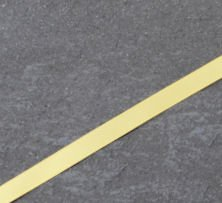 660 Yellow gold double faced satin ribbon