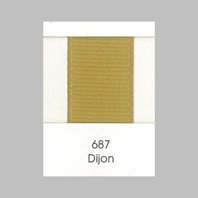 687 Dijon Grosgrain Ribbon