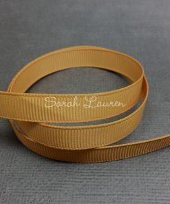 690 Old Gold Grosgrain Ribbon