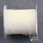 6mm organza ribbon antique white