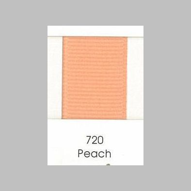720 Peach Grosgrain Ribbon
