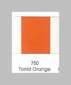 750 Torrid Orange Grosgrain Ribbon wholesale grosgrain ribbon australia