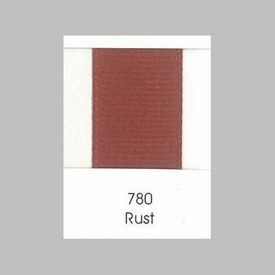 780 Rust Grosgrain Ribbon
