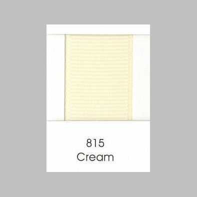 815 Cream Grosgrain Ribbon