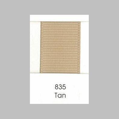835 Tan Grosgrain Ribbon Sarah Lauren