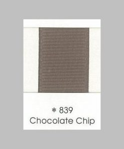 839 Chocolate Chip Grosgrain Ribbon