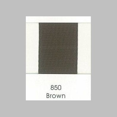 850 Brown Grosgrain Ribbon