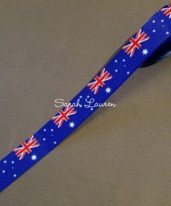 Australian Flag Ribbon 22mm