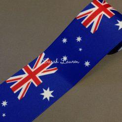 Australian Flag Ribbon75mm