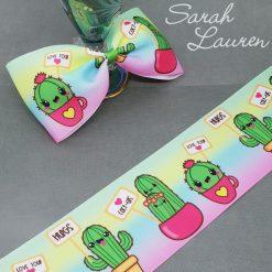 Cactus Hugs Ribbon 75mm