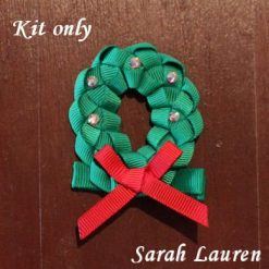 Christmas Wreath Ribbon kit