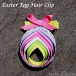 Easter Egg Hair Clip
