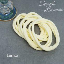 Extra Soft Nylon Headbands Lemon