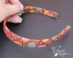 Fabric Covered Headband - Step 3