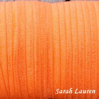 Fold Over Elastic Torrid Orange