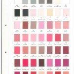 Grosgrain Ribbon Colour Chart-1