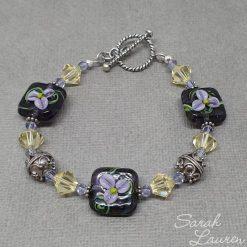 Pansy Crystal bracelet