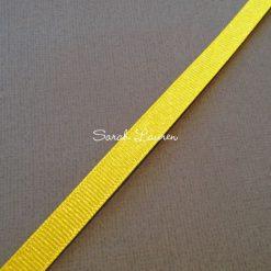 Silver Purl Ribbon Daffodil Glitter Ribbon 9mm