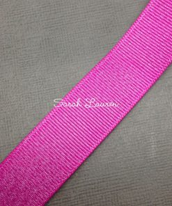 Garden Rose Silver Glitter Ribbon Silver Purl Ribbon 22mm