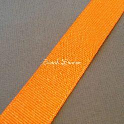 Tangerine silver glitter ribbon Silver Purl Ribbon 22mm