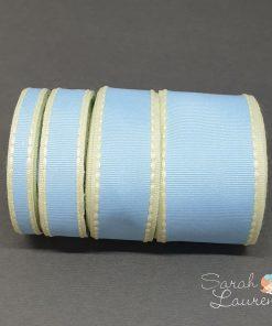 Stitch Grosgrain Ribbon Blue & Yellow set