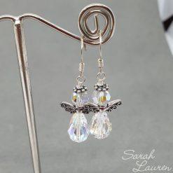 Swarovski Crystal Angel earrings