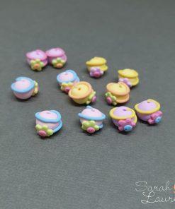 Swirl ball polymer clay wm