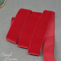 Red Velvet Ribbon 22mm